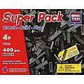 Black Super Pack 400pcs -- Building Block Set -- #19020