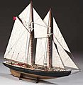 1/65 Bluenose Double-Masted Fishing Schooner (Intermediate)