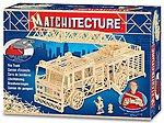Ladder Fire Truck (1500pcs) -- Wooden Construction Kit -- #6615