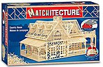2-Story Country House (2300pcs) -- Wooden Construction Kit -- #6623