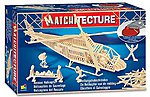 Rescue Helicopter (500pcs) -- Wooden Construction Kit -- #6646