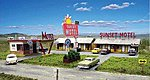 Sunset Motel - Kit -- N Scale Model Railroad Building -- #1001