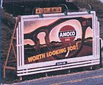 Laser-Cut Wood Billboards Grille 1940s -- HO Scale Model Railroad Roadway Sign -- #1432