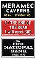 Barn Sign Decals Set #3 -- HO Scale Model Railroad Decal -- #2252