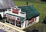 Blairstown General Store Kit -- N Scale Model Railroad Building -- #80