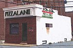 Pizzaland Laer-Cut Kit -- N Scale Model Railroad Building -- #96