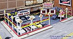 A-to-Z Used Car Lot Kit (Cars Sold Separately) -- N Scale Model Railroad Building -- #97