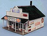 Blairstown General Store Building Kit -- N Scale Model Railroad Building -- #80