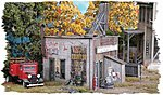 Rusty's Radiator Co. - Kit -- HO Scale Model Railroad Building -- #832