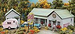 Collard's Creek Motor Park -- HO Scale Model Railroad Building -- #872