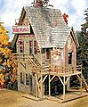 Wicked Wanda's - Kit -- HO Scale Model Railroad Building -- #962