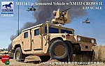M-1114 Up-Armoured Vehicle -- Plastic Model Humvee Kit -- 1/35 Scale -- #35136