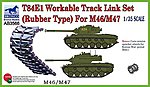 T84E1 Workable Track Link Set -- Plastic Model Vehicle Accessory -- 1/35 Scale -- #3566