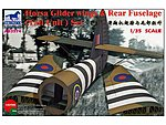 Horsa Glider Wings and Rear Fuse -- Plastic Model Aircraft Accessory -- 1/35 Scale -- #3574