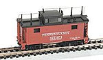 PRR Train Phone Caboose Antenna -- N Scale Model Train Freight Car -- #37099