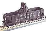 H-21a 4-Bay Hopper Pennsylvania Railroad -- HO Scale Model Train Freight Car -- #54069