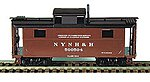 N-5 All-Steel Caboose Kit New Haven -- HO Scale Model Train Freight Car -- #55037