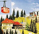 N Scale Cable Car Set - N-Scale