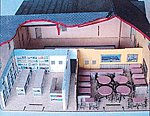 Dubois Store Interior Detail Kit Laser-Art Kit -- HO Scale Model Railroad Building -- #641
