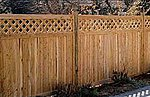 Privacy Fence w/Lattice Laser Art Kit -- HO Scale Model Railroad Building Accessory -- #710