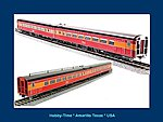 Southern Pacific '41 Coast Daylight Articulated Chair -- HO Scale Model Train Passenger Car -- #1771