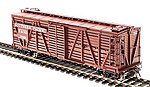 K7 Stock Car Southern Pacific with Chicken Sounds -- HO Scale Model Train Freight Car -- #4577