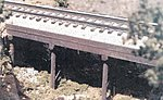 Ballasted Deck Trestle -- O Scale Model Railroad Bridge -- #17103