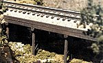 Atlantic Coast Line 50' Ballast Deck Trestle -- HO Scale Model Railroad Bridge -- #27103