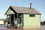 Cabin Creek Series - East End Grocery -- HO Scale Model Railroad Building -- #27226