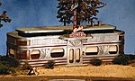 Goin' Home Series - Babe's Diner -- HO Scale Model Railroad Building -- #27440