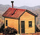 Cabin Creek Series - Clegg's Cabin -- HO Scale Model Railroad Building -- #27470