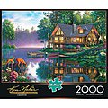 Cabin Fever 2000pcs -- Jigsaw Puzzle Over 1000 Piece -- #2047