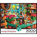Grandpa's Shed 2000pcs -- Jigsaw Puzzle Over 1000 Piece -- #2048
