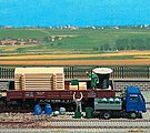 Assorted Freight Loads - Pallets, Crates, Barrels -- HO Scale Model Train Freight Car Load -- #1132
