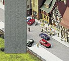 Old Town Street -- HO Scale Model Railroad Road Accessory -- #6031