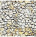 Wall Card 8-1/4'' x 5-13/16'' Natural Stone -- HO Scale Model Railroad Road Accessory -- #7422