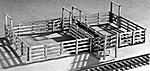 Cattle Loading Pens -- HO Scale Model Railroad Building Kit -- #781