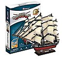 USS Constitution Sailing Ship 3D Foam Puzzle (193pcs) -- 3D Jigsaw Puzzle -- #4024