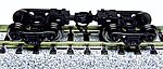 Freight Car Truck w/Coupler & Metal Wheelsets -- N Scale Model Train Trucks -- #53021