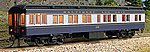 Heavyweight 65' Solarium-Observation Baltimore & Ohio -- HO Scale Model Passenger Car -- #94409