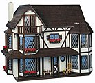 Greenleaf The Harrison -- Wooden Doll House Kit -- #8006
