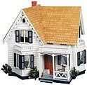 Greenleaf The Westville -- Wooden Doll House Kit -- #8013