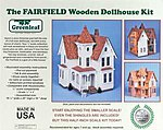 Greenleaf The Fairfield -- Wooden Doll House Kit -- #8015