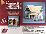 Greenleaf The Magnolia -- Wooden Doll House Kit -- #9303