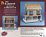 Greenleaf The Laurel -- Wooden Doll House Kit -- #9309