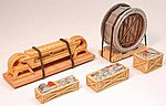 Rock Crusher & Pulley Load - 80 Ton -- HO Scale Model Train Freight Car Load -- #7278