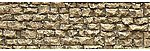 Flexible Random Stone Wall -- Small Stones -- HO Scale -- N Scale -- #8250