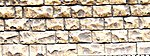Flexible Cut Stone Wall Small Stones -- HO Scale Model Railroad Scenery -- #8260