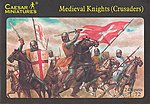 Medieval Knights (Crusaders) (24) -- Plastic Model Military Figure -- 1/72 Scale -- #17