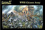 WWII Chinese Army (40) -- Plastic Model Military Figure -- 1/72 Scale -- #36